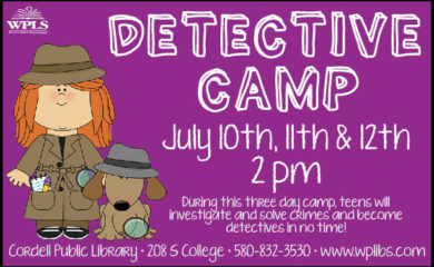 Cordell Detective Camp