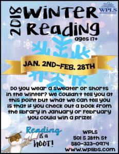 Winter Reading 2018 main