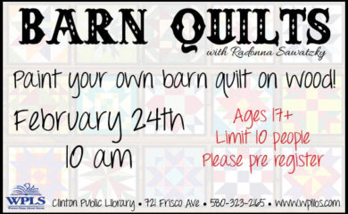 clinton barn quilts